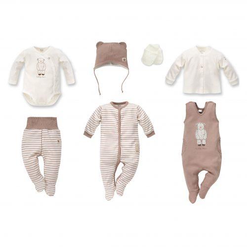 2df35981 Nyfødt baby sett, Teddy Bear, 7 deler, str: 50,56,62 – Little Bunny – baby  og barneklær.