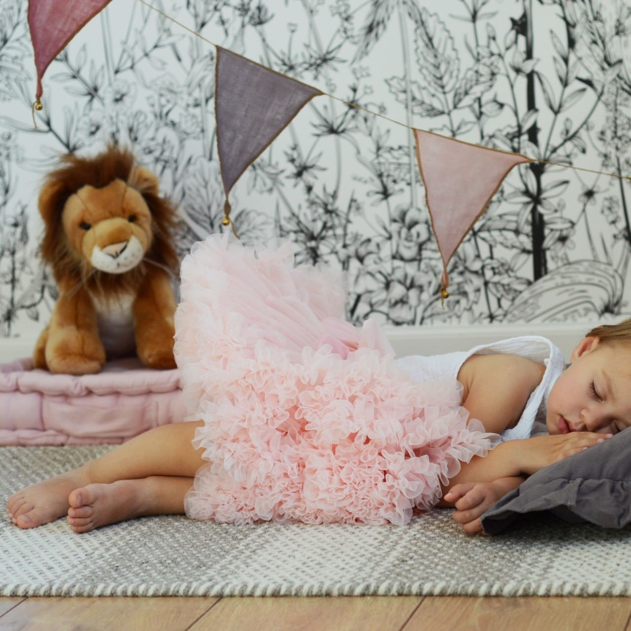 482bf5b5 Tyllskjørt Pettiskirt, dusty pink, str 0-6år og voksen str – Little ...