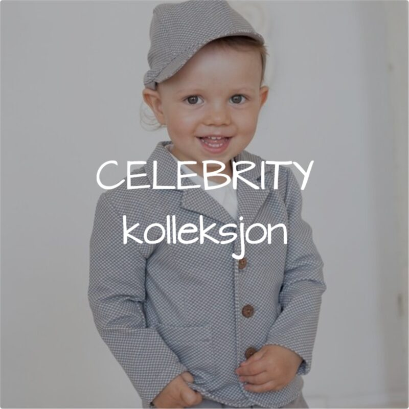 Celebrity kolleksjon for baby gutter.
