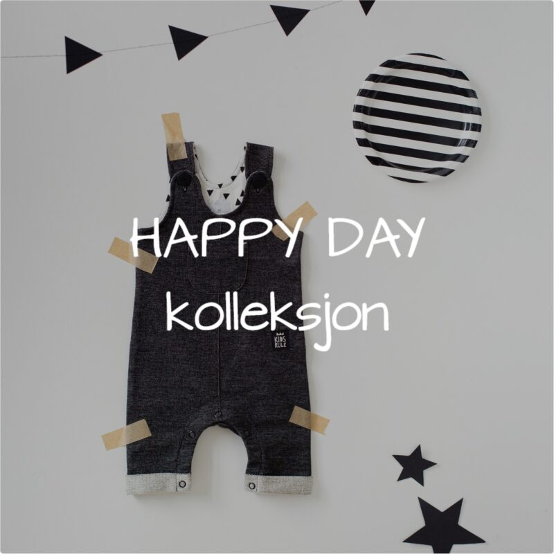 Happy Day kolleksjon for baby gutter.