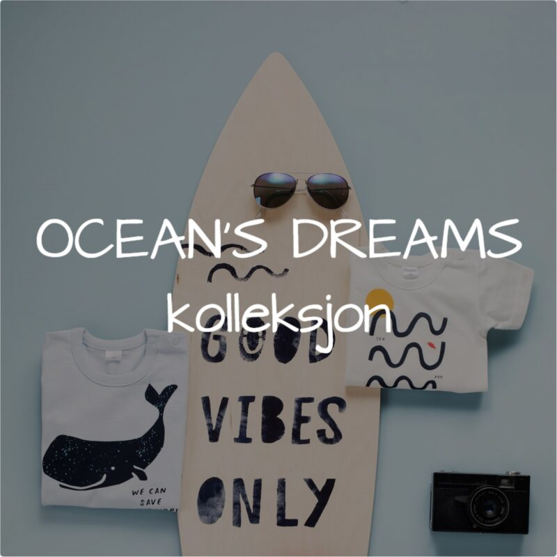 Ocean's Dreams kolleksjon for baby gutter.
